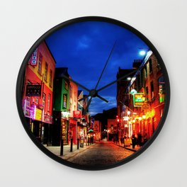 temple bar Wall Clock
