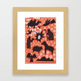 Joy to the World! Framed Art Print