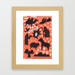 Joy to the World! Framed Art Print