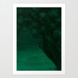 Declined Art Print