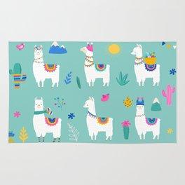 Hola, Llama Rug
