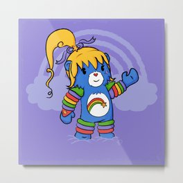 Rainbow Bearite Metal Print