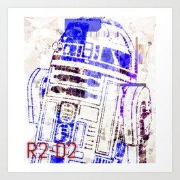 R2D2 Art Print
