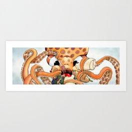 Tako the Octo Art Print