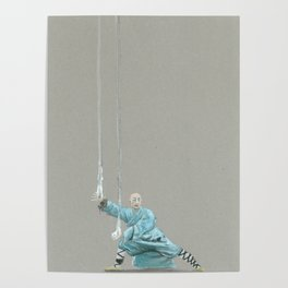 Paths to the waterfall - three - Tai Chi Poster