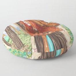The Goddess Nanna Floor Pillow