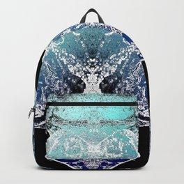 Turquoise Mandala-Throat Chakra Backpack