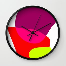 Giant cupcake art print Wall Clock