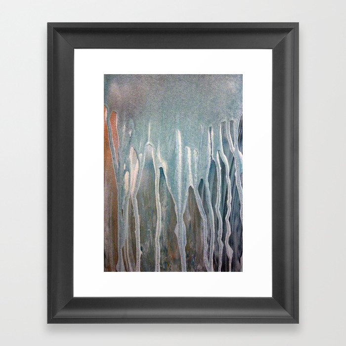 Abstract Painting 27 Framed Art Print