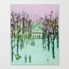 Tuieleries Canvas Print