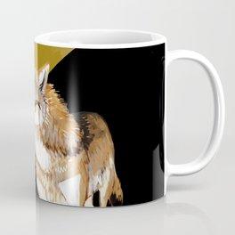 Mongolian Wolf #1 Coffee Mug