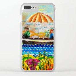 Max and Moritz and the sugar cane Clear iPhone Case