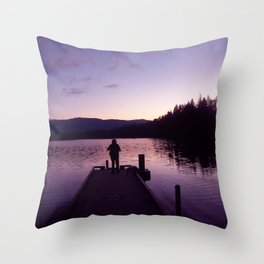 Getting Back With YOU Throw Pillow