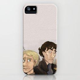 Sherlock and Watson. iPhone Case