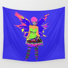 Fairy Punk Wall Tapestry