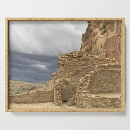 Chaco Canyon gathering Storm Serving Tray