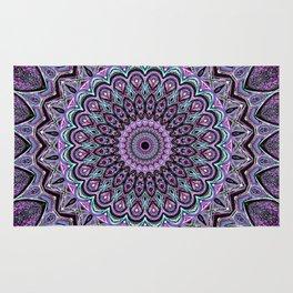 Blackberry Bliss - Mandala Art Rug