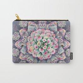 succulent mandala 5 Carry-All Pouch