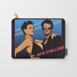 80s Stallone synthwave Carry-All Pouch
