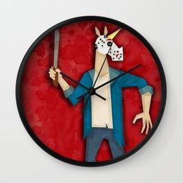 Jason the Unicorn Wall Clock