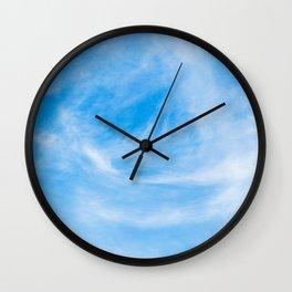 Cirrus Clouds 8 Wall Clock