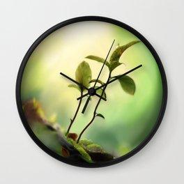 Mystic green Wall Clock