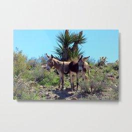 Desert Burrows Metal Print