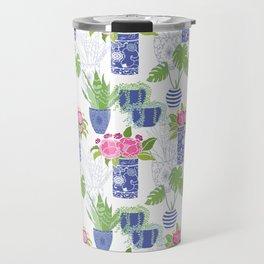 Chinoiserie Cactus Travel Mug