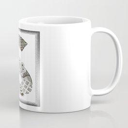 Zentangle S Monogram Alphabet Initials Coffee Mug