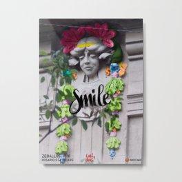 Smile - Cara Dura Proyect Metal Print