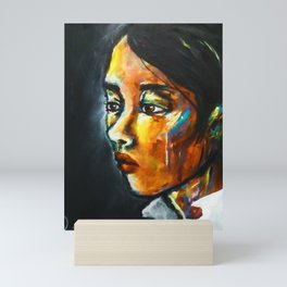 Harlow (portrait) Mini Art Print