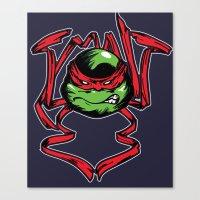 tmnt Canvas Prints featuring TMNT by Daniel Delgado