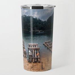 The Island at Lagos de Montebello Chiapas Travel Mug