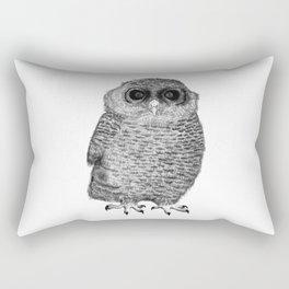 Owl Nr.3 Rectangular Pillow