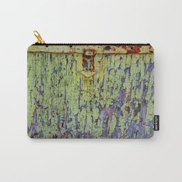Cracked Vintage Paint Abstract Carry-All Pouch