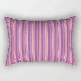 Flirty Burlesque Stripes Rectangular Pillow