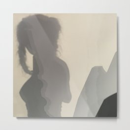 She Mountains Metal Print