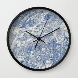 Mind Dream is to Have Her Always Wall Clock