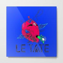 ZEN ATTITUDE BY LE TATE Metal Print