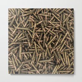 Rifle bullets Metal Print