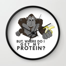 The Protein Question Wall Clock