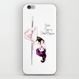 Pole Dancer Pole Dancing Pole Dance iPhone Skin