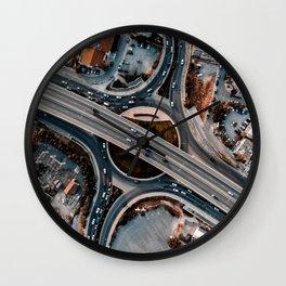 Driving Rituals Wall Clock