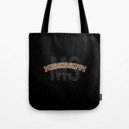 Mississippi Vintage Retro Collegiate Tote Bag
