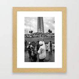 May Day in Havana Cuba Framed Art Print