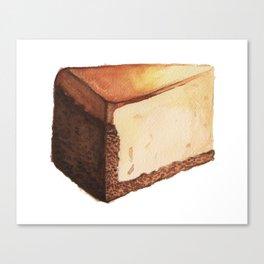 Cheesecake Slice Canvas Print