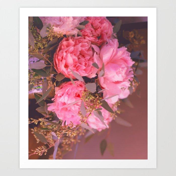 Red Flowers Art Print
