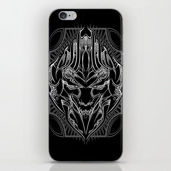 Pinstripe Megatron iPhone & iPod Skin