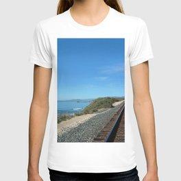 Costal Train Tracks T-shirt
