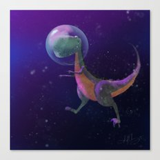 Dino Space Canvas Print